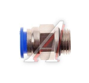 Соединитель трубки ПВХ,полиамид d=12мм (наружная резьба) М16х1.5 прямой PC M16x1.5 d=12, АТ-0713