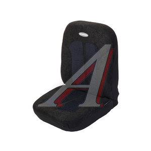 Авточехлы универсальные плотный велюр/поролон 5мм черные (11 предм.) Selection AUTOPROFI SEL-1105 BK/BK (M)