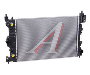 Радиатор CHEVROLET Aveo (05-) (1.4) МКПП OE 96816481