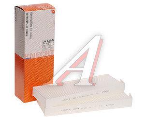 Фильтр воздушный салона PEUGEOT Partner (08-),3008 CITROEN Berlingo (08-),C4 Picasso (2шт.) MAHLE LA428/S, 6447.XF