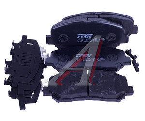 Колодки тормозные MAZDA CX-5 (11-) передние (4шт.) TRW GDB3562, KDY9-33-28Z