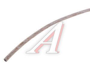 Трос d=4/5мм металлический в изоляции 1м DIN ТРОС В ПВХ