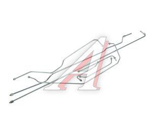 Трубка тормозная ЗИЛ-130 без МТП комплект 7шт. 130-3560000