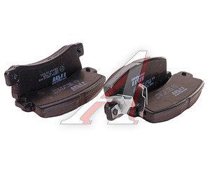 Колодки тормозные TOYOTA Avensis задние (4шт.) TRW GDB3164, 04466-32050