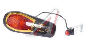 Звонок велосипедный электрический с подсветкой JY-2000B черный *LU045360*, 210051