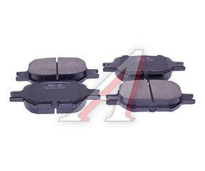 Колодки тормозные TOYOTA Corolla,Verso,Celica передние (4шт.) SANGSIN SP1272, GDB3316