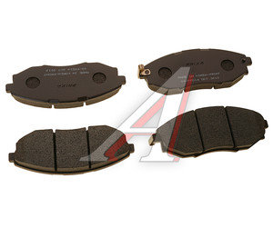 Колодки тормозные CHEVROLET Epica передние (4шт.) HANKOOK FRIXA FPD14, GDB4179, 96475027