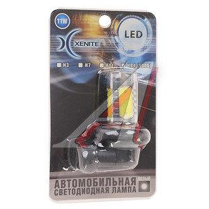 Лампа светодиодная HB4/9006 11W 12-24V белая CREE блистер XENITE HB4(9006)-11W XENITE, 1009039,
