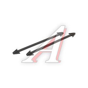 Крепление BMW 3 (E46) заглушки крюка буксировочного OE 51118122335,