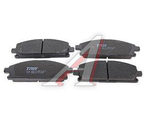 Колодки тормозные NISSAN X-Trail T30, Pathfinder R50 передние (4шт.) TRW GDB3293, GDB3293/GDB3312, D1060-8H785/41060-5W585/41060-8H785/41060-8H386