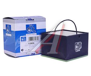 Фильтр топливный MAN сепаратора квадратный (75х75х55мм для SEPAR2000/05 с подогревом) DIESEL TECHNIC 322016, PU88