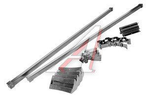 Багажник ВАЗ-2110-2112 L=1200 (гладкая крыша) прямоугольный сталь комплект МУРАВЕЙ МУРАВЕЙ L-1200-075-0, 690243