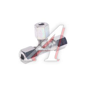 Соединитель трубки ПВХ,полиамид d=6мм тройник металл резьбовой EUROPART 0518600140, 652866