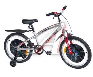 """Велосипед 20"""" 1-ск. (7-11 лет) (AL-рама) серый металлик TRANSFORMERS TOTEM JKS1505-20"""