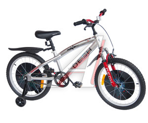 "Велосипед 20"" 1-ск. (AL-рама) (7-11лет) серый металлик TRANSFORMERS JKS1505-20"
