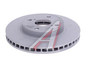 Диск тормозной TOYOTA Corolla (02-) передний (1шт.) GALFER B1.G225-0155.1