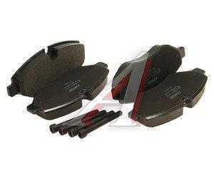 Колодки тормозные MERCEDES Sprinter (906),Vito (W639) (4шт.) FENOX BP43121, GDB1698,