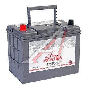 Аккумулятор ALASKA CMF silver+ 80А/ч 6СТ80 90D26R, 90D26R
