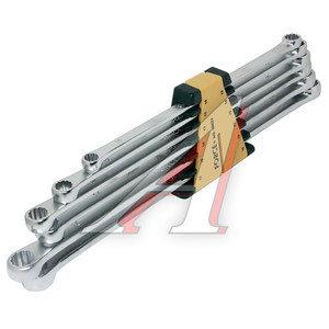Набор ключей накидных 10-19мм 6 предметов в холдере прямые экстрадлинные FORCE F-50622