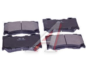 Колодки тормозные NISSAN 370Z INFINITI FX37,FX50 передние (4шт.) SANGSIN SP1471, GDB3505