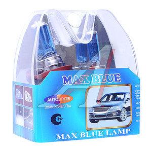 Лампа H8 12Vх35W AUTOBRITE MAX BLUE (евробокс) 2шт. MS Н8-12-35
