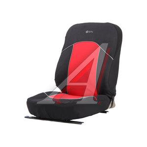Авточехлы универсальные (L) полиэстер черно-красные (AIRBAG 6 предм.) Fast PSV 126247, 126247 PSV