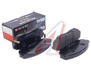 Колодки тормозные KIA Sorento передние (4шт.) HSB HP1017, GDB3343/581013ED03/581013ED02/581013ED00, 581013ED03