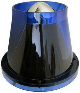Фильтр воздушный PRO SPORT TWISTER прозрачный синий d=70 RS-00765