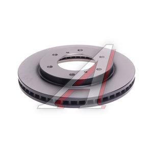 Диск тормозной MITSUBISHI L200 передний (1шт.) TRW DF4920, MN102276