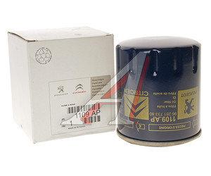 Фильтр масляный PEUGEOT 106,205,306,309,405,406 OE 1109.AP, OC100/OC99