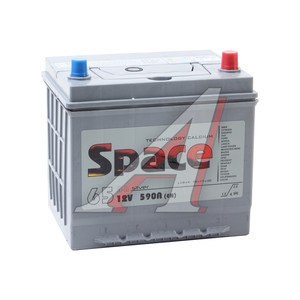 Аккумулятор SPACE VLA 65А/ч обратная полярность 6СТ65 75D23L, 75D23L