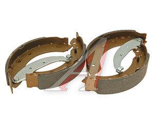 Колодки тормозные ЛАДА Ларгус RENAULT Logan задние барабанные (203х38мм) (4шт.) FENOX BP53017, GS8534,