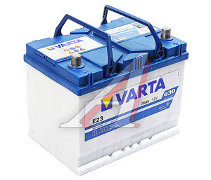 Аккумулятор VARTA Blue Dynamic 70А/ч обратная полярность 6СТ70 Е23, 570 412 063 313 2,