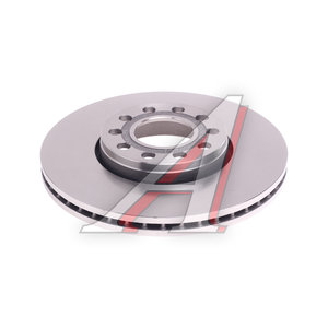 Диск тормозной VW Passat (97-05) AUDI 100,A4,A6 SKODA Superb (01-) передний (1шт.) OE JZW615301B, DF2652, 8E0615301Q/4B0615301B/4A0615301D/JZW615301B
