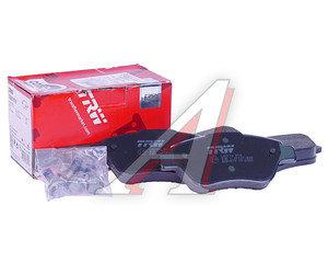 Колодки тормозные FIAT Doblo (03-) передние (4шт.) TRW GDB1579, 77363992