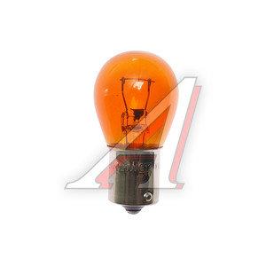 Лампа 12VхPY21W (Ba15s) указатель поворота желтая МАЯК А12-21-3ж, 61213ORANGE, А12-21-3