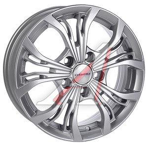 Диск колесный литой VW Golf,Jetta (05-) SKODA Oсtavia (07-) R15 Аламида БП КС-701 K&K 5х112 ЕТ47 D-57,1,