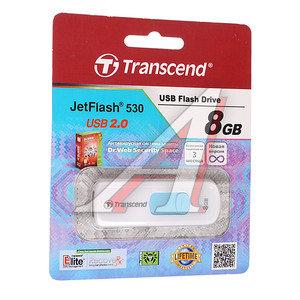 Карта памяти USB 8Gb TRANSCEND JF530 USB 2.0 TRANSCEND TS8GJF530,
