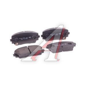 Колодки тормозные KIA Picanto (11-) передние (4шт.) HSB HP1047, GDB3535, 58101-1YA30