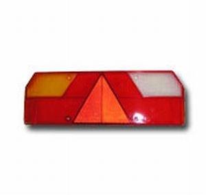 Рассеиватель SCHMITZ Europoint 1 фонаря заднего левого (ж/б) SERTPLAS L0023C, 0023L