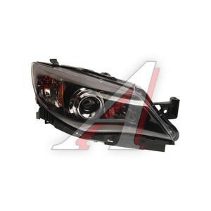 Фара SUBARU Impreza седан (08-) правая (черная окантовка) TYC 20-9121-A0-1N, 320-1118R-AS2, 84001FG241