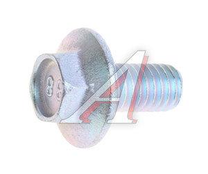 Болт М6х1.0х12 с зубчатым буртиком планки стеклоподъемника 13836021