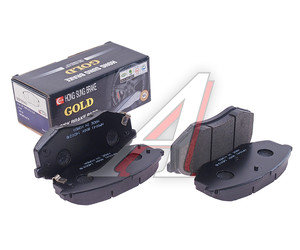 Колодки тормозные KIA Sportage (05-),Carens (06-) передние (4шт.) HSB HP0041, GDB3553/58101-3SA20, 58101-3SA20