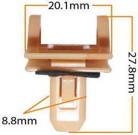 Пистон обивки универсальный KJ-384 MASUMA KJ-384