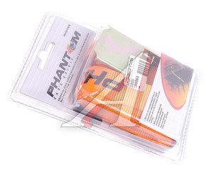 Стяжка крепления груза 0.2т 2.5м-25мм (полиэстер) с храповиком блистер PHANTOM PH6422