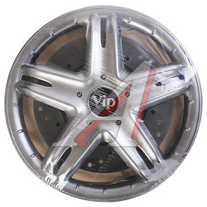 Колпак колеса R-13 декоративный серый комплект 4шт. ВИП ВИП R-13
