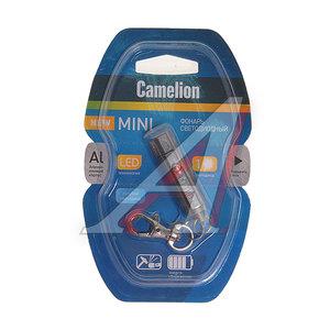 Фонарь-брелок светодиодный (алюминий) 4см 3хG3 1.5V CAMELION C-LED13-1R