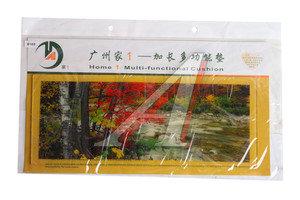 Коврик на панель приборов универсальный противоскользящий 400х160 с рисунком горная река ART8103