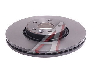 Диск тормозной VOLVO S60 (10-),S80 (06-11) передний (1шт.) BREMBO 09.A426.11, DF6185S, 30769061