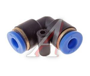 Соединитель трубки ПВХ,полиамид d=5мм угольник PUL05, АТ-341
